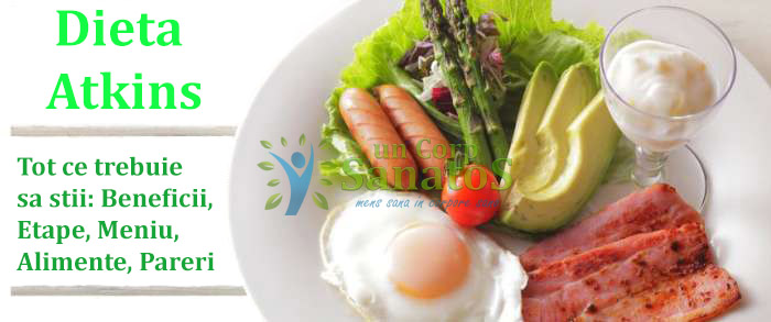 dieta atkins beneficii