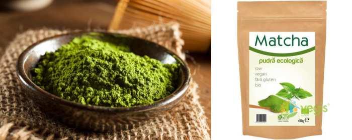 matcha ceai verde eco bio 60g pret