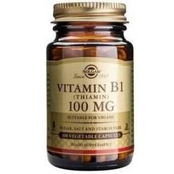 vitamina b1 tiamina 100mg 100 capsule pret