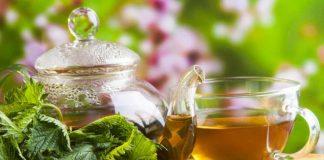 ceai de urzica verde slabit par