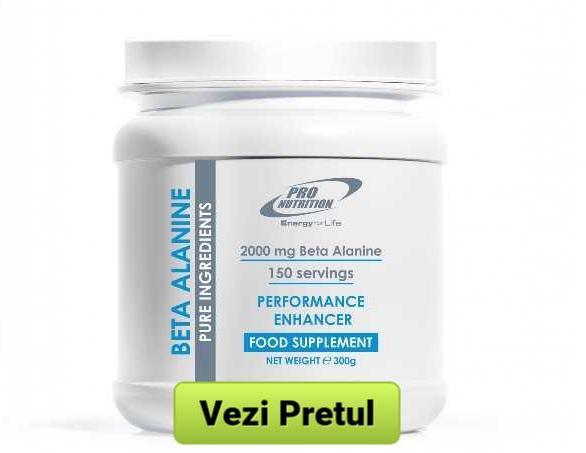 beta alanina aminoacid muschi