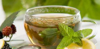 ceai de menta cu lamaie