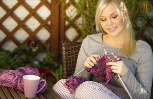 invata sa tricotezi cand te plictisesti